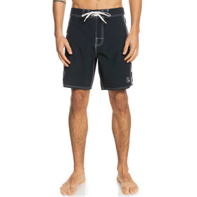 "Quiksilver Echo Beach Arch 18"" Boardshorts Men, negro/blanco"